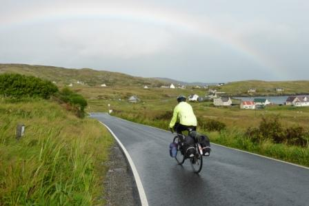 Rainbow on Barra
