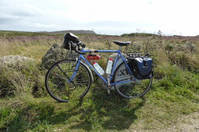 My trusty steed at Land's End last year.