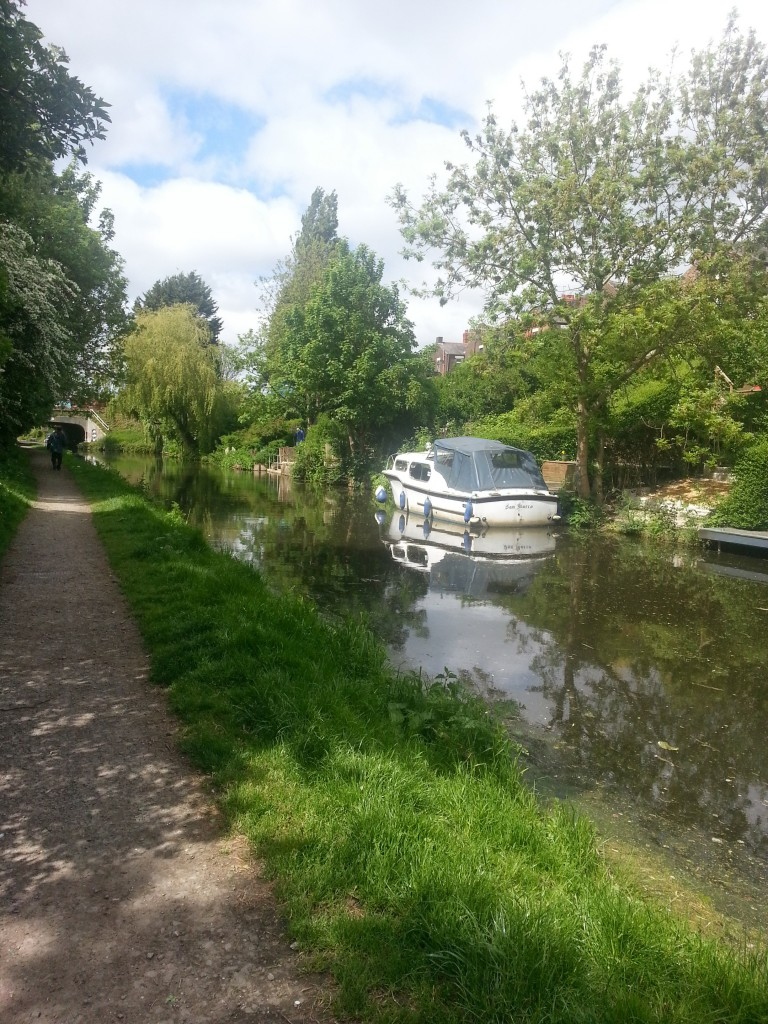 Towpath tranquility